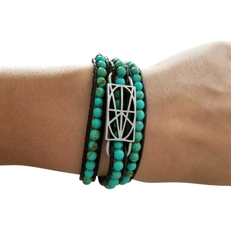 Picture of Turquoise Wrap Bracelet